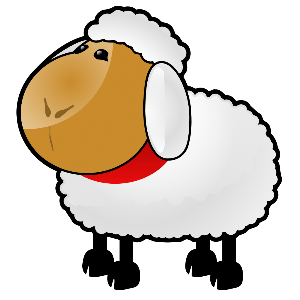 Sheep SVG Clip arts