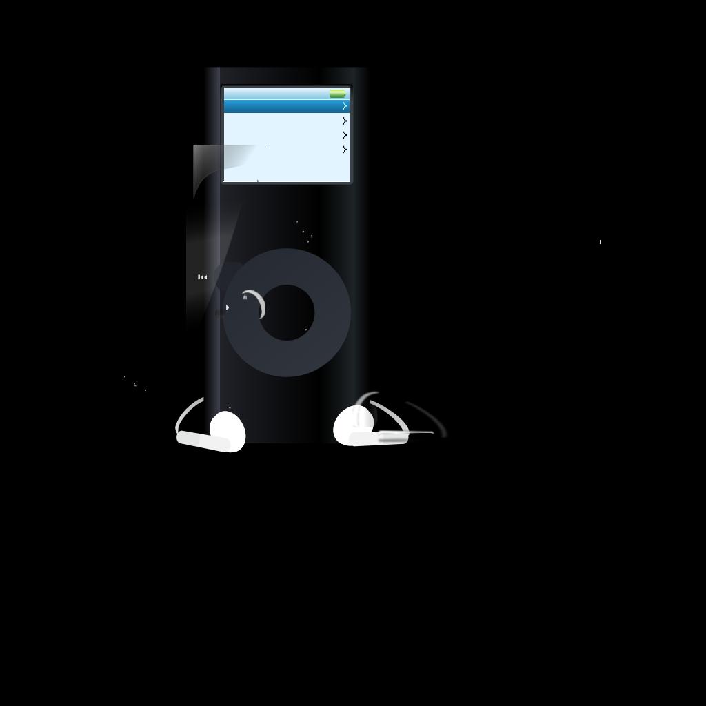 Ipod Boy SVG Clip arts