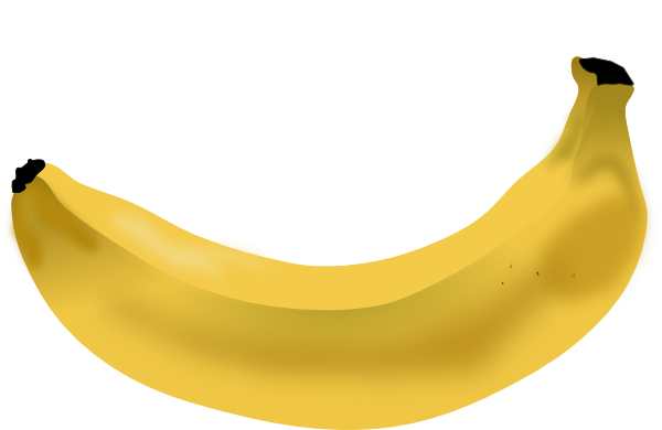Banana Peel SVG Clip arts