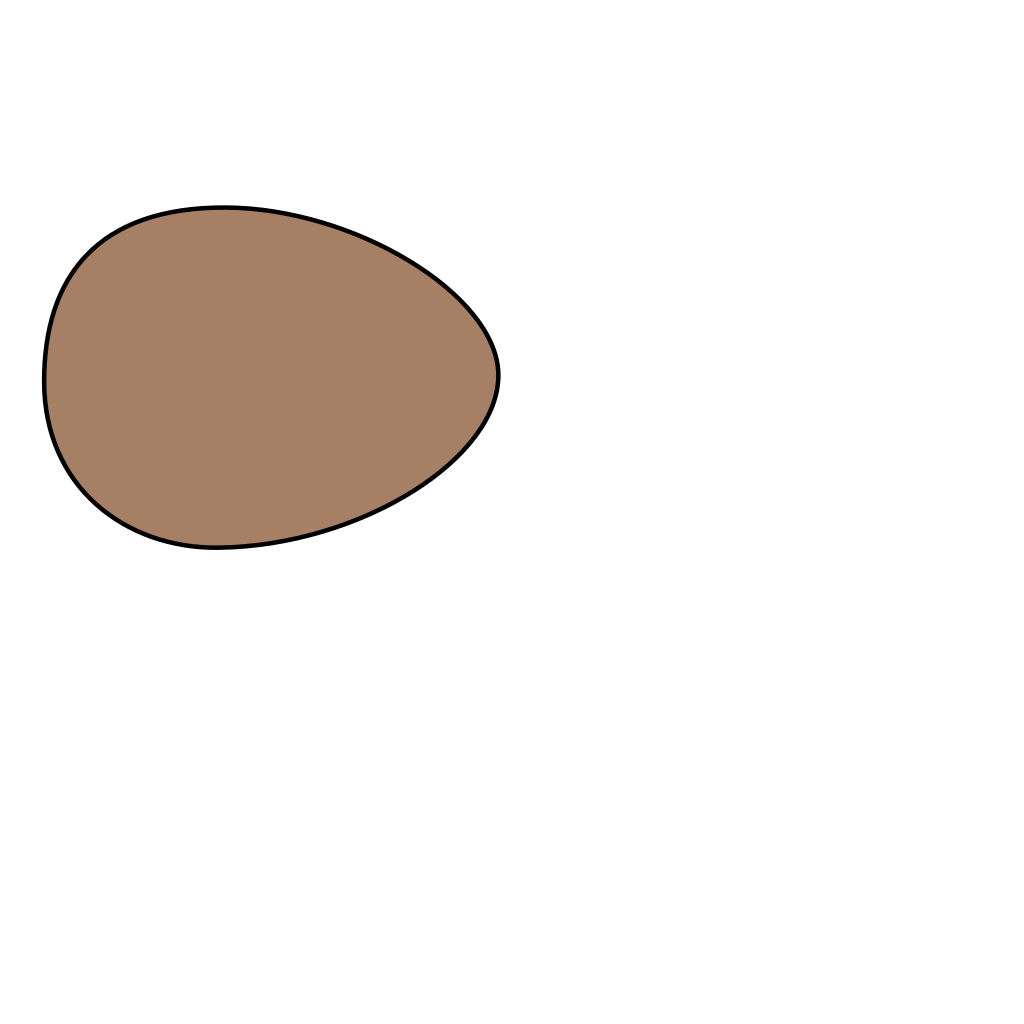 Brown Egg svg