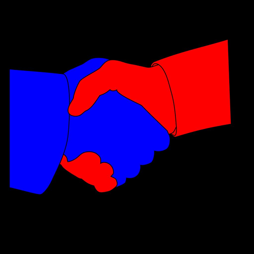 Hand Shake SVG Clip arts