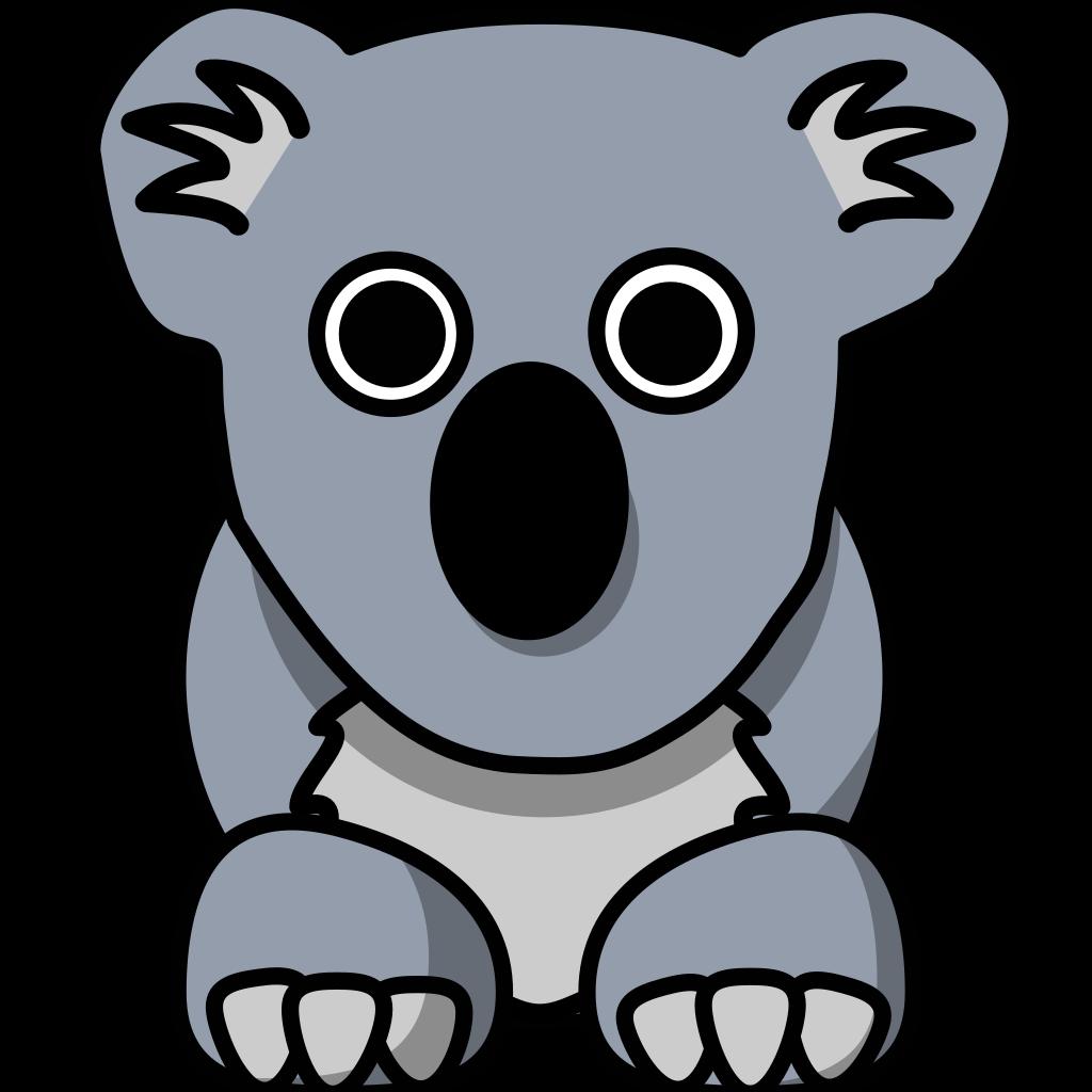 Koala Art And Design : Koala png svg clip art for web download