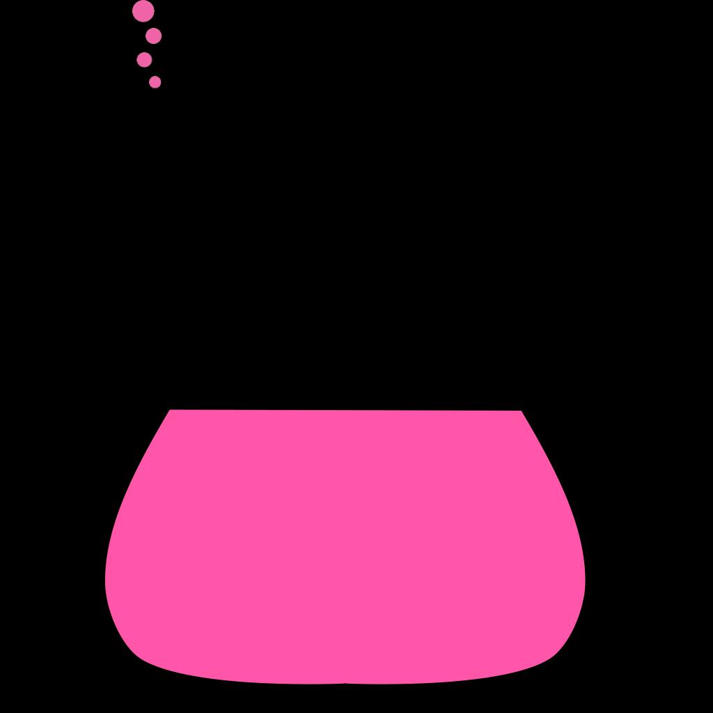 Pink Flower 15 SVG Clip arts