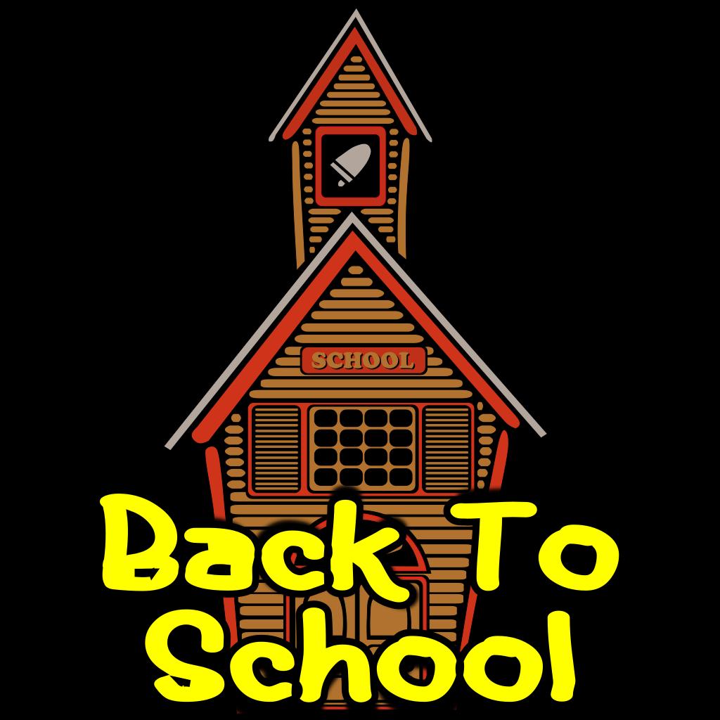 Back To School SVG Clip arts