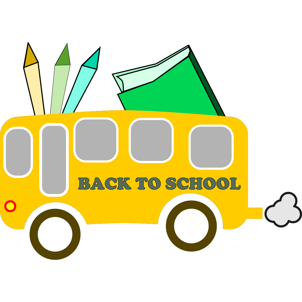 Back To School SVG Clip arts