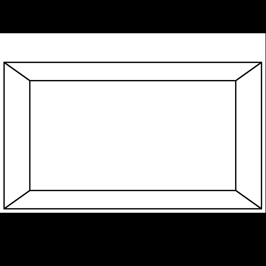 Simple Frame Black PNG, SVG Clip art for Web - Download ...