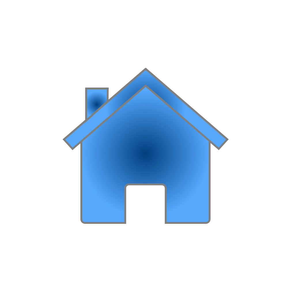 Blue house png svg clip art for web download clip art for Png home designs