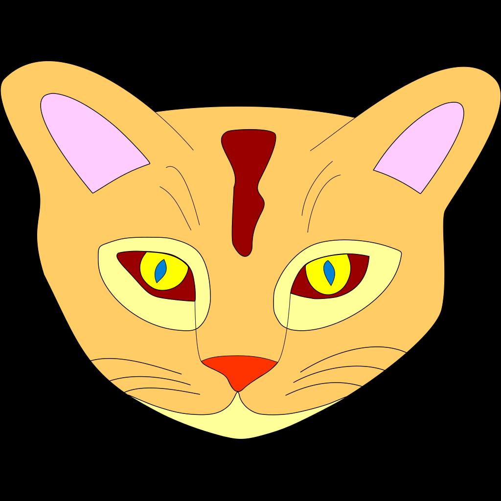 Cat Clipart Face
