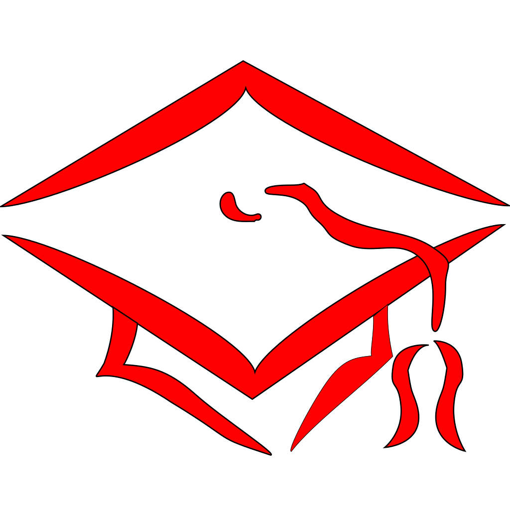 Class Of 2011 Graduation Cap SVG Clip arts