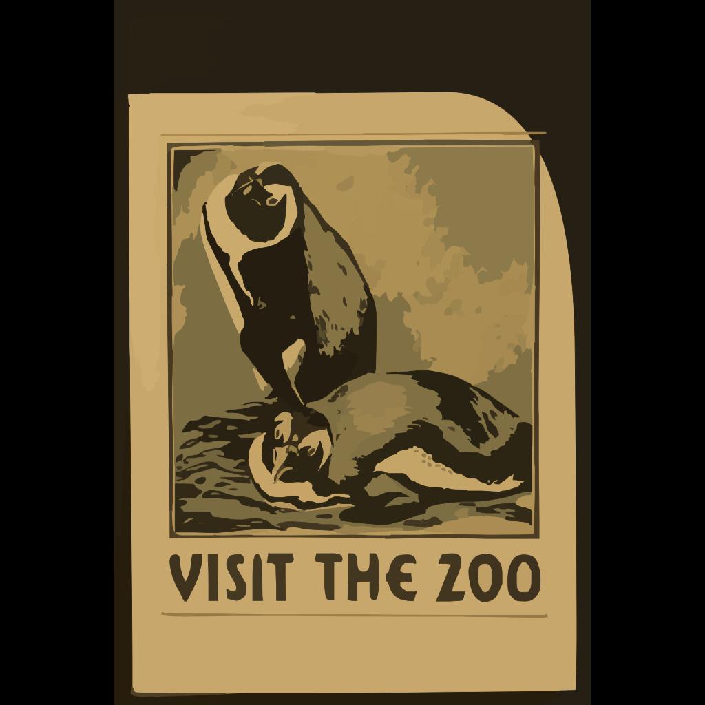 Penguins Cartoon SVG Clip arts