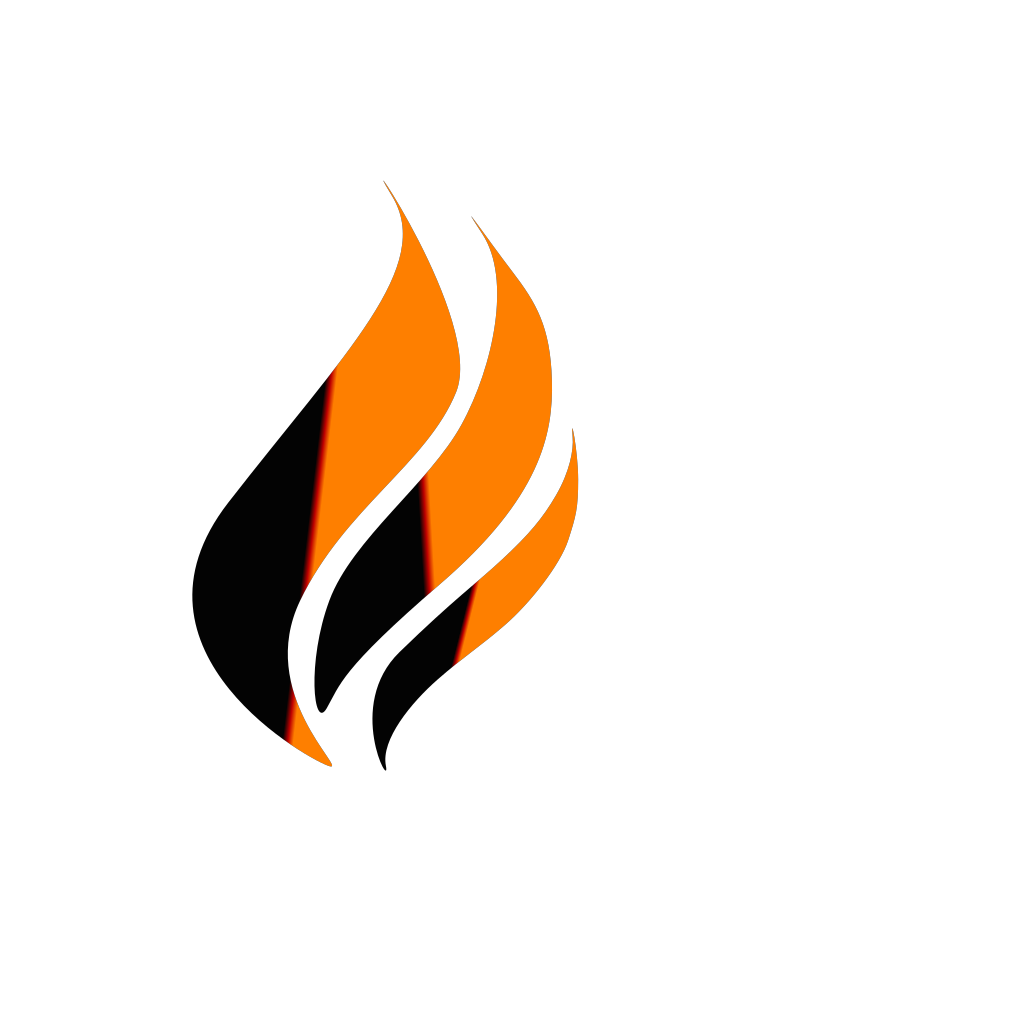 Gas Flame Logo svg