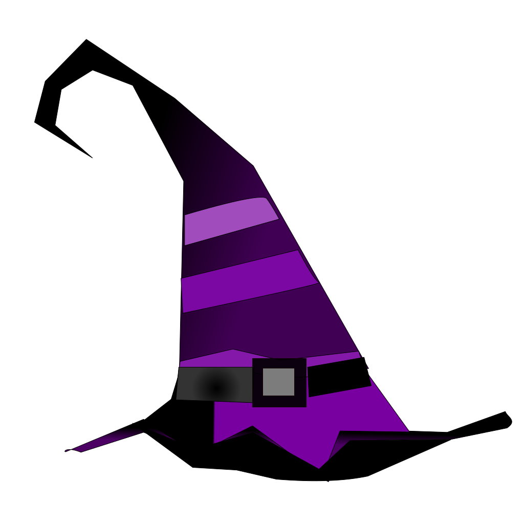 Witch Hat SVG Clip arts