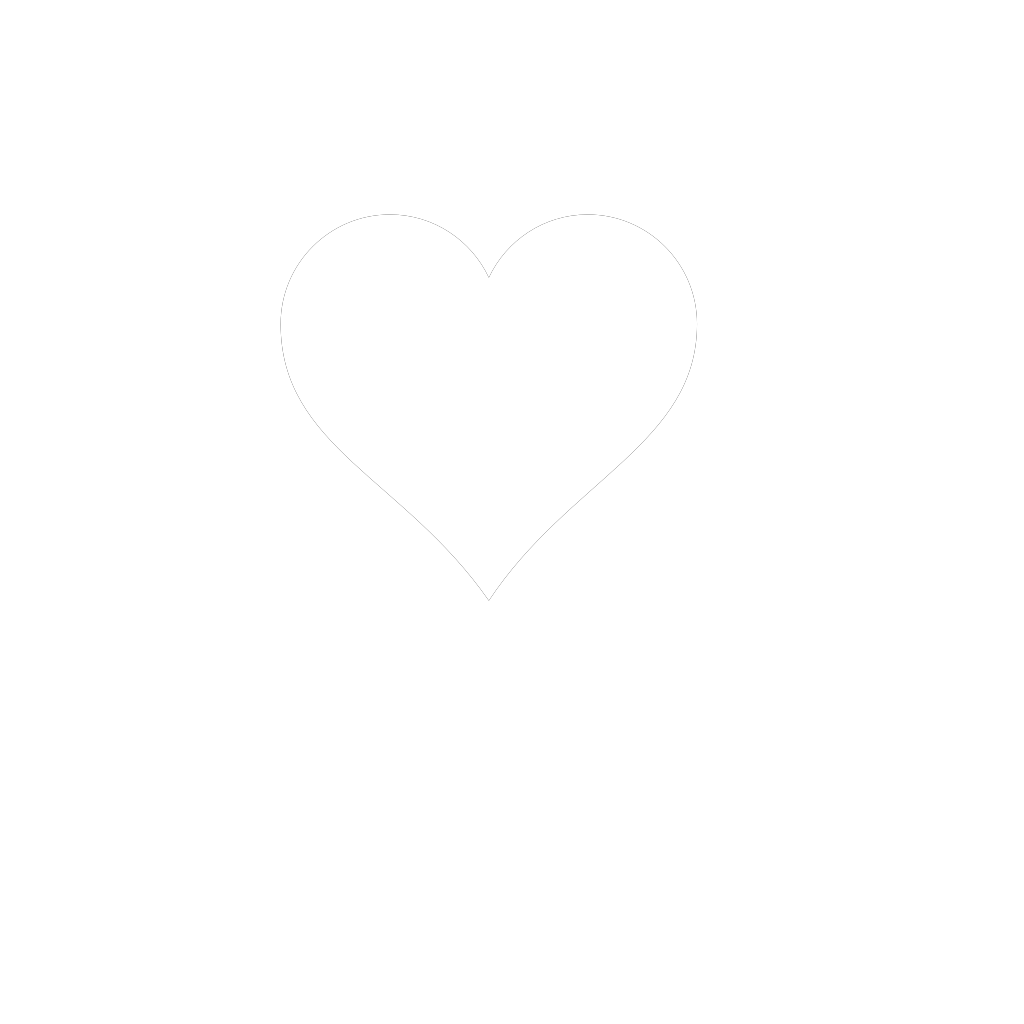 Black And White Heart SVG Clip arts
