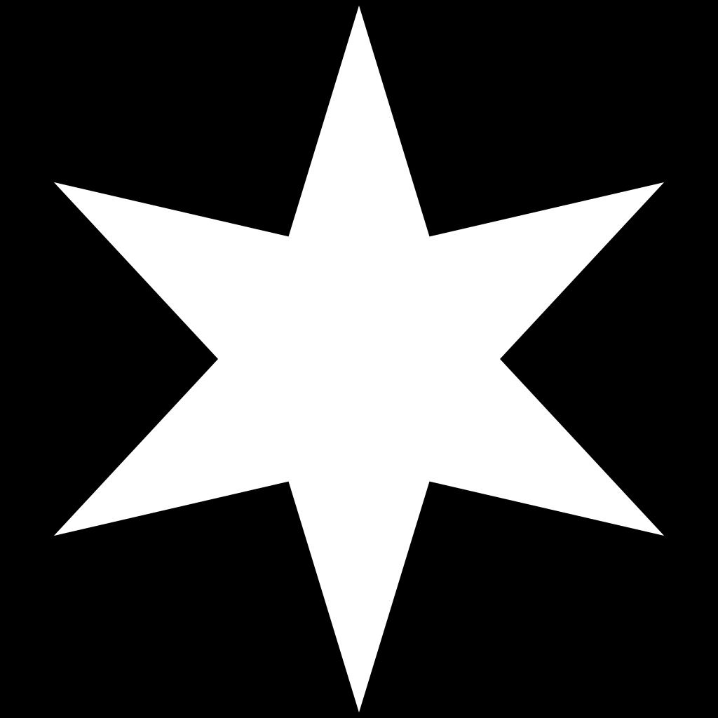 White Star SVG Clip arts