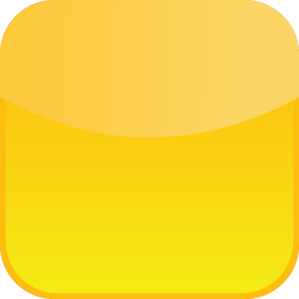 Glossy Yellow Icon Button SVG Clip arts