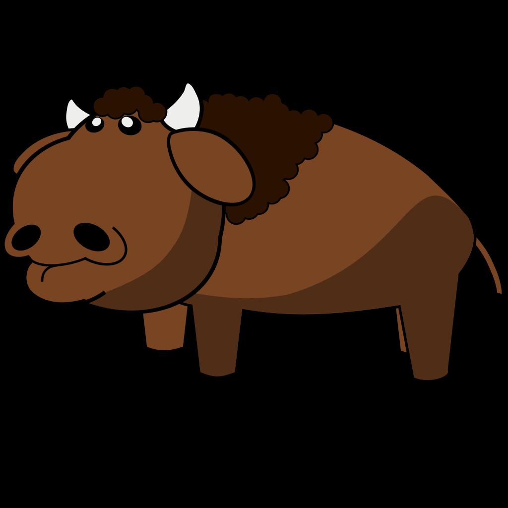 Buffalo SVG Clip arts