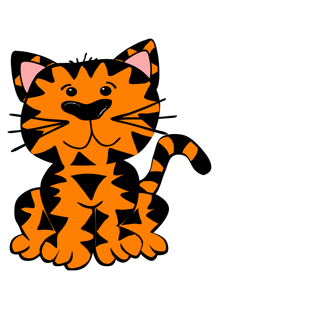 Tiger SVG Clip arts