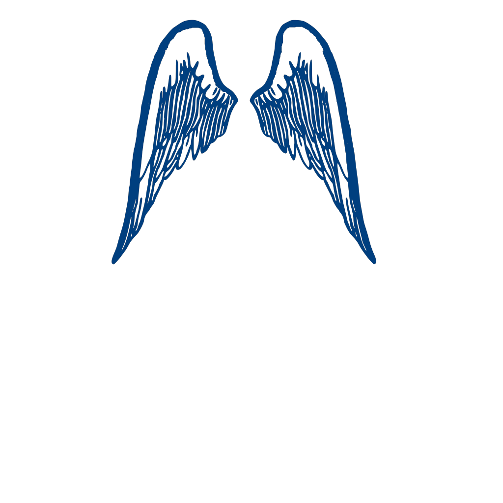 Blue Wings SVG Clip arts