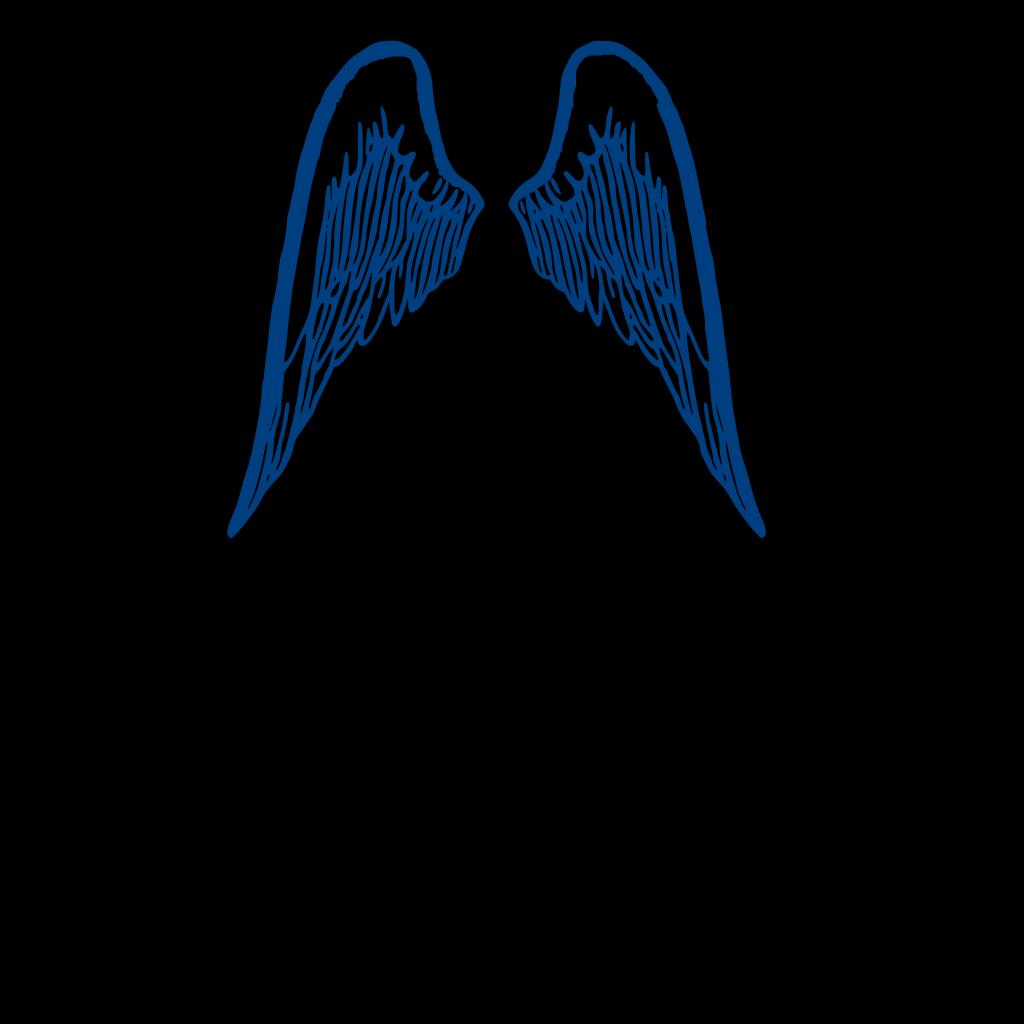 Blue Wings SVG Clip arts
