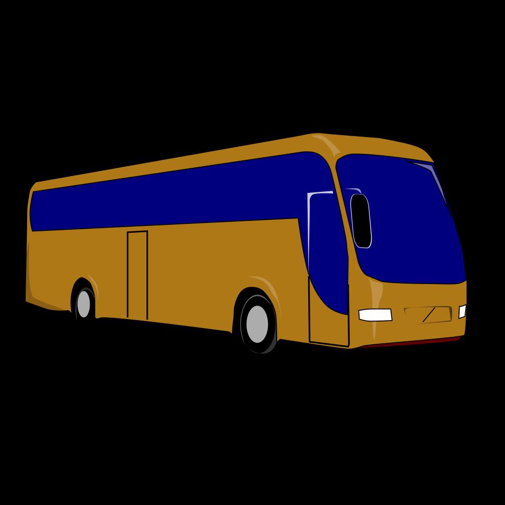 Tour Bus Fleet SVG Clip arts