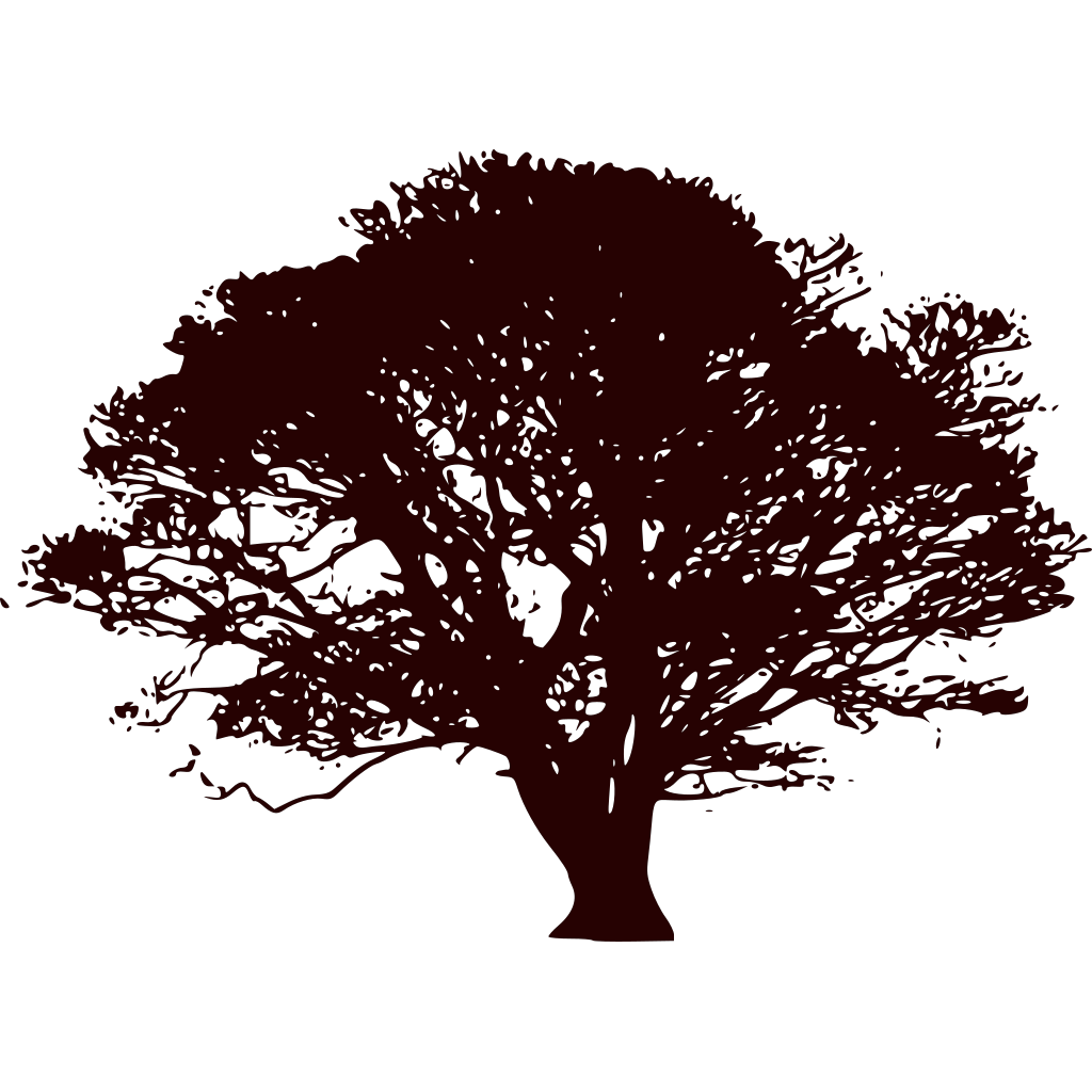 Snowflake Tree Black And Red SVG Clip arts