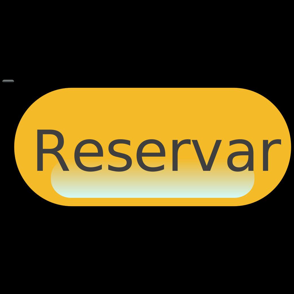 Reservar Yellow Button SVG Clip arts