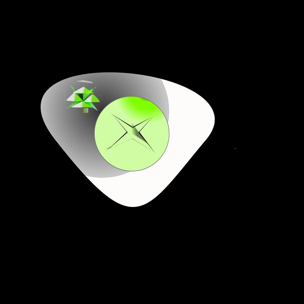 Xbox Controller A Button SVG Clip arts