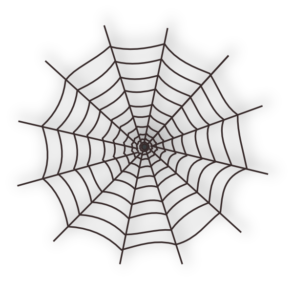 Spider Web SVG Clip arts