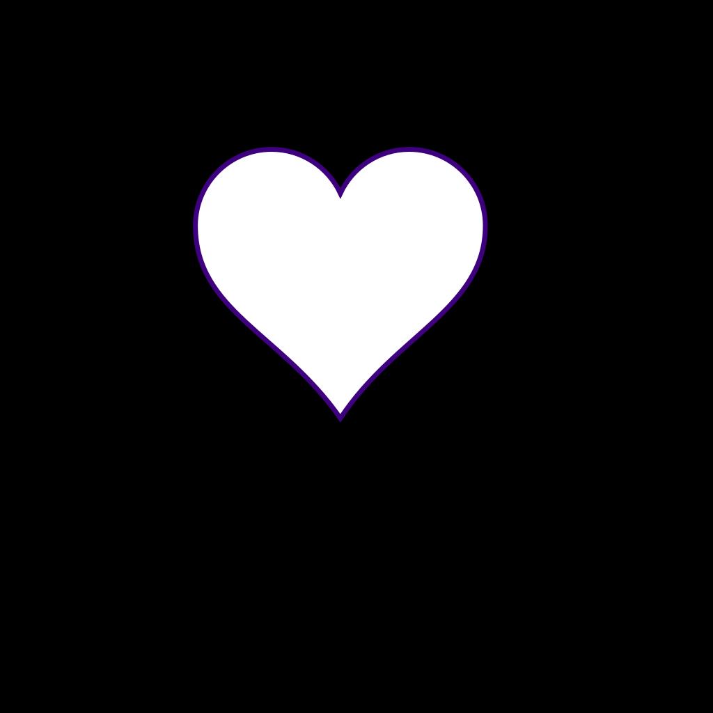 Half Broken Heart SVG Clip arts