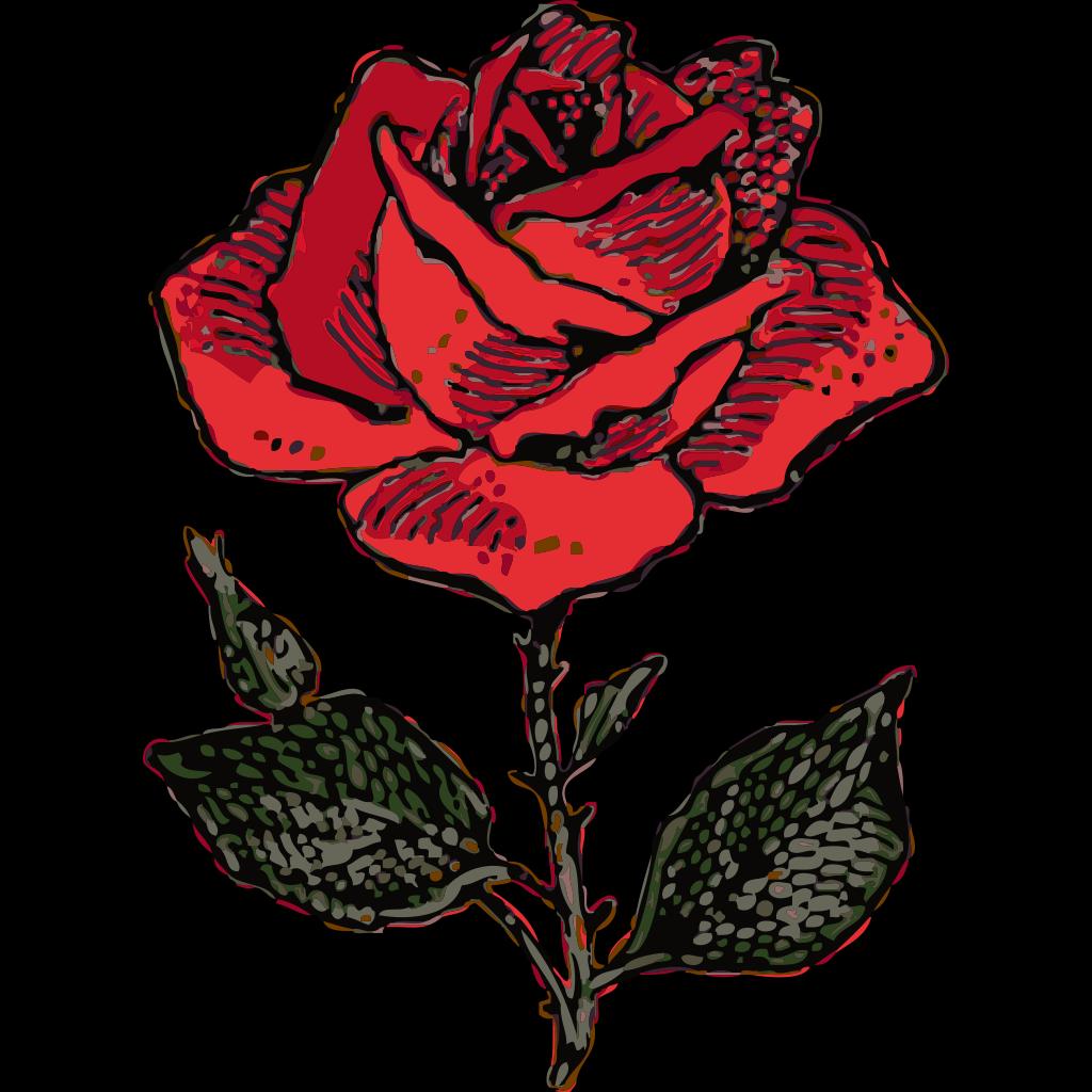 Rose  SVG Clip arts