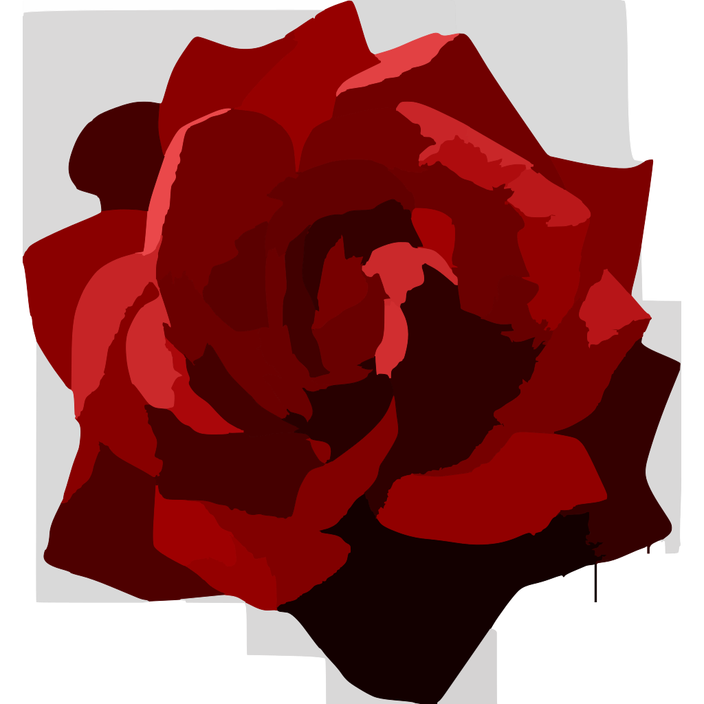 Rose 5 SVG Clip arts