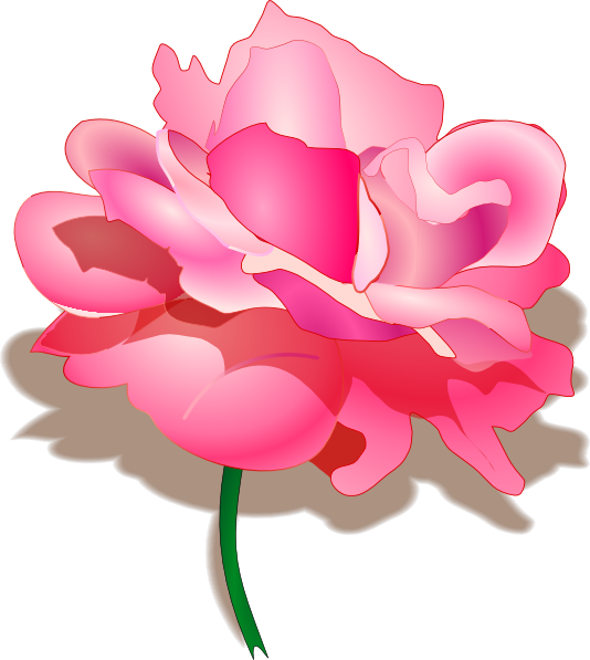 Rose 2 SVG Clip arts