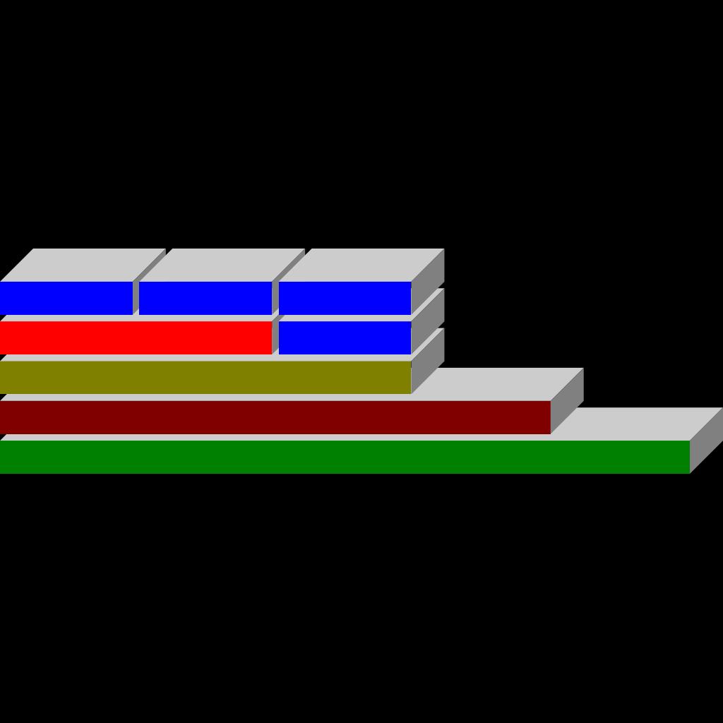 Boxes Diagram SVG Clip arts