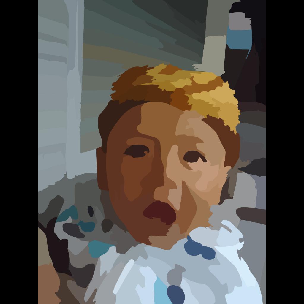 Baby Image Brown SVG Clip arts