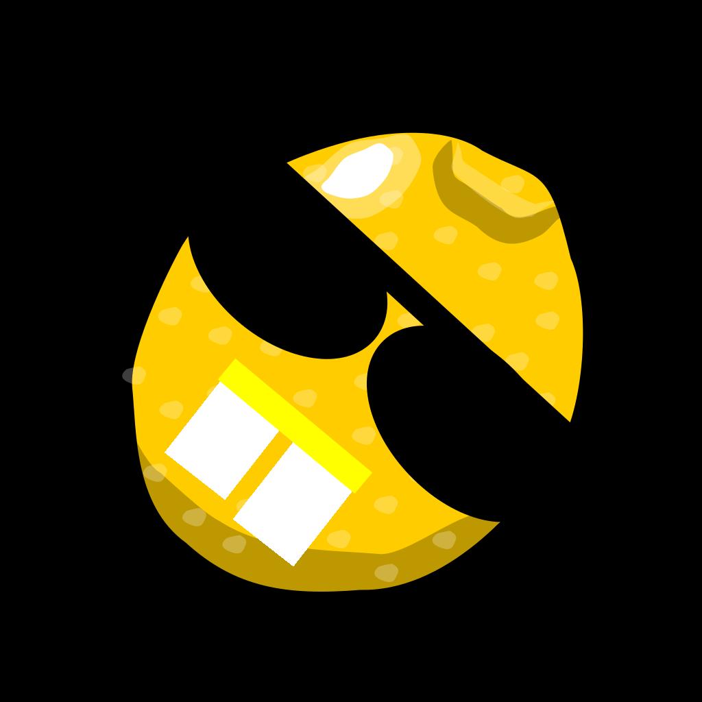 Lemon Black SVG Clip arts