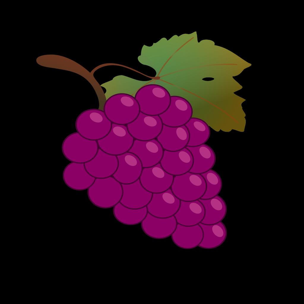 Grape Black SVG Clip arts