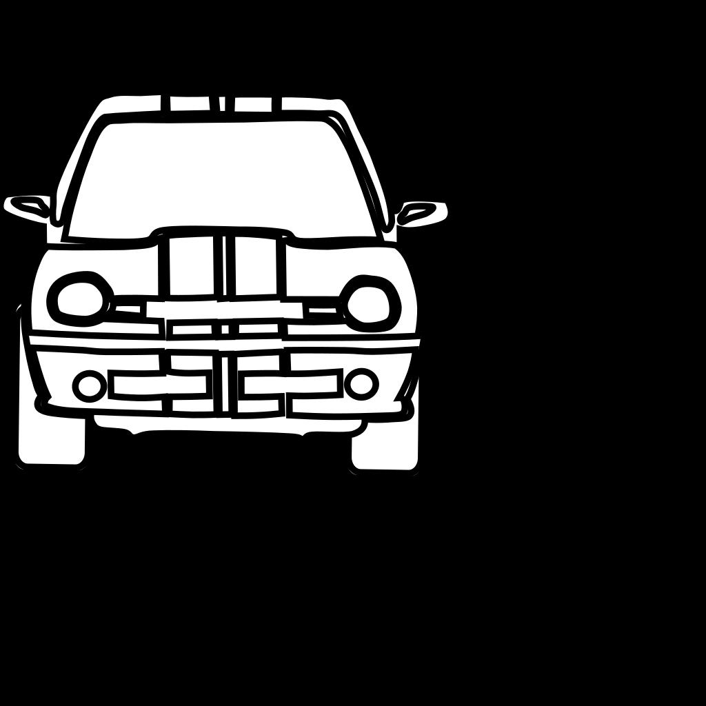Black Car SVG Clip arts