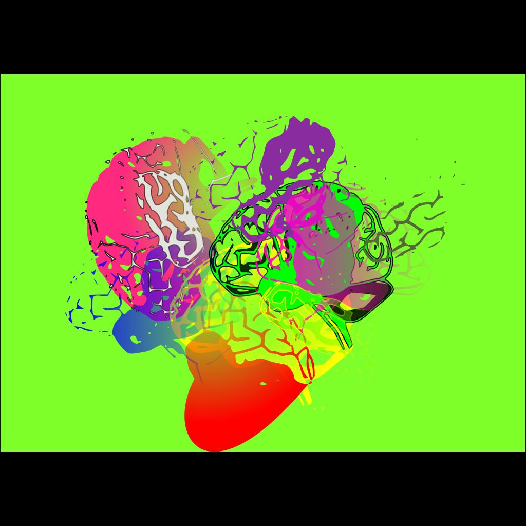 Cibo Psychotic Chaos SVG Clip arts