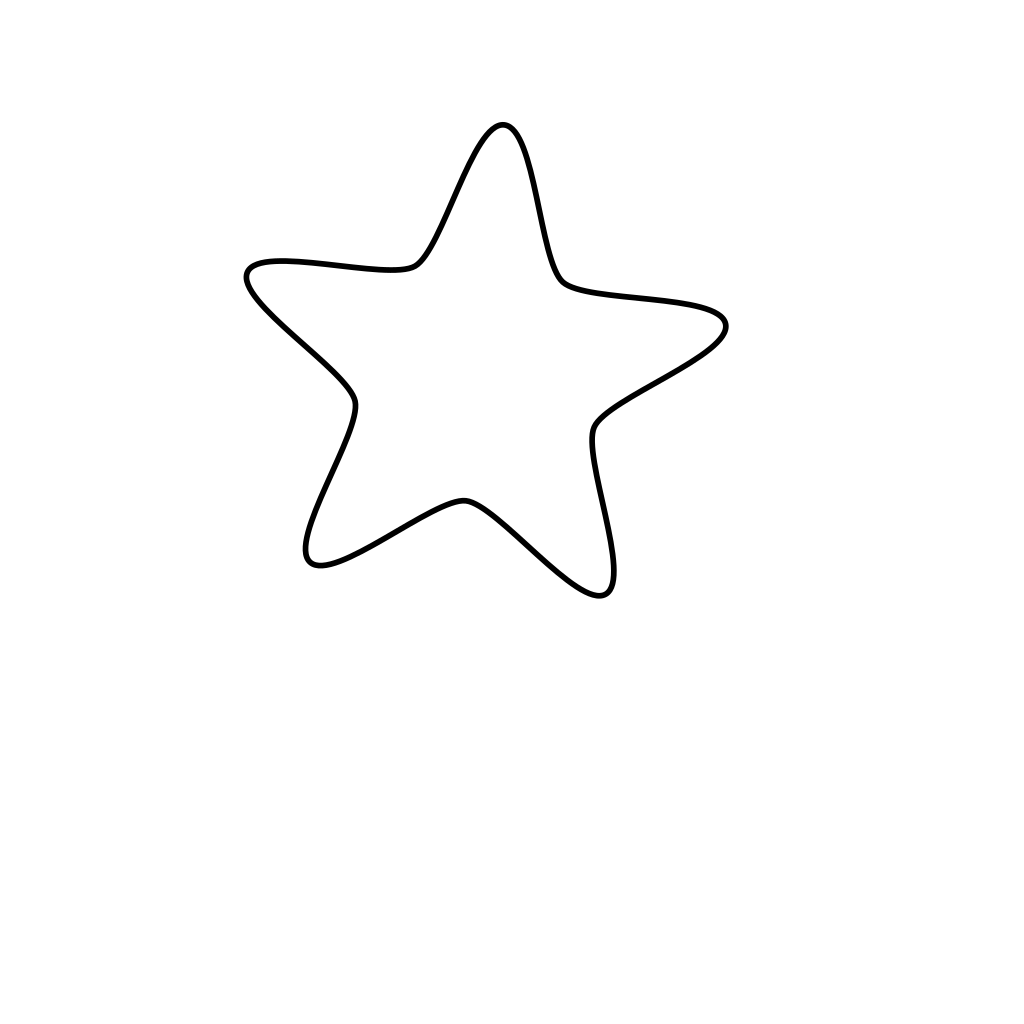 New Star Green Button svg