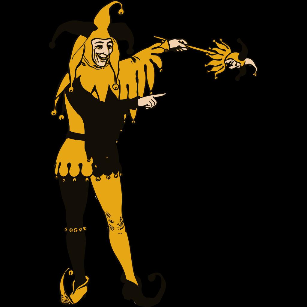 Jester SVG Clip arts