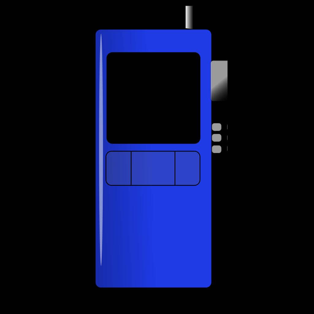 Hand Phone SVG Clip arts
