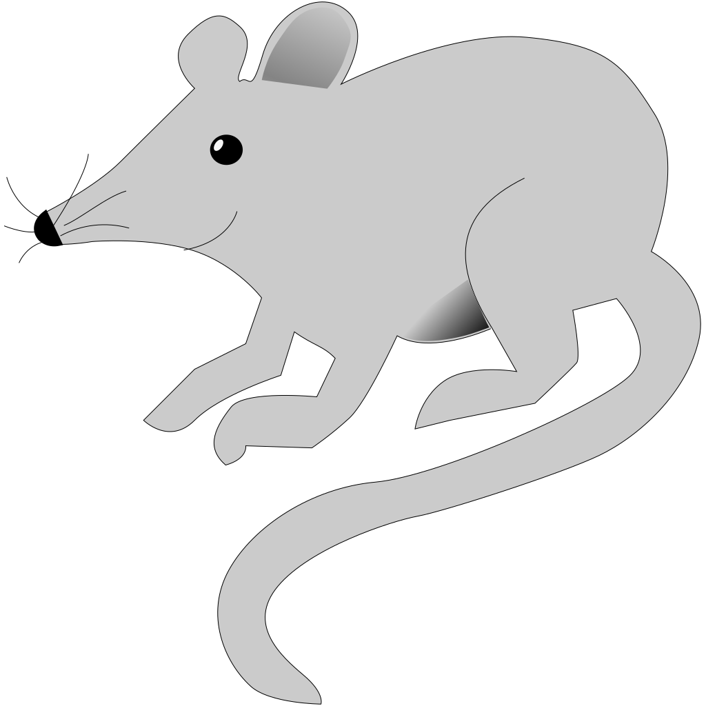 Mouse-xfce SVG Clip arts