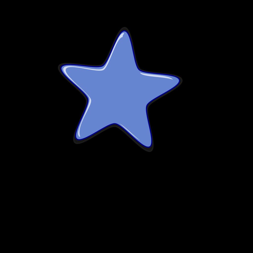 Star 4 SVG Clip arts