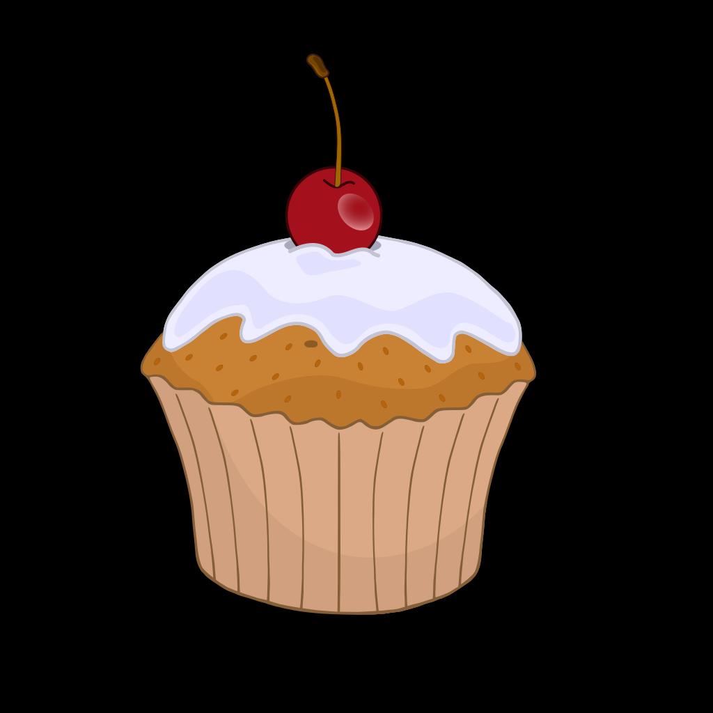 Blueberry Muffin SVG Clip arts