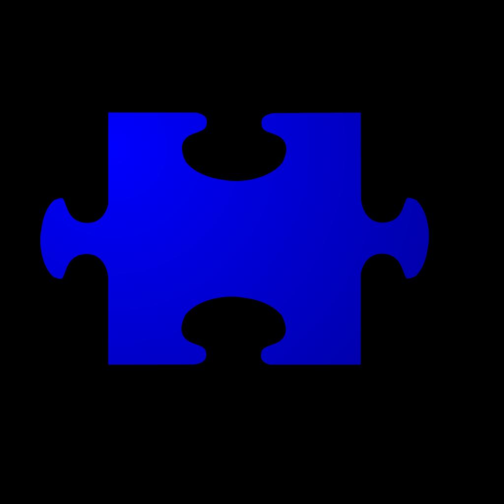 Jigsaw Red SVG Clip arts
