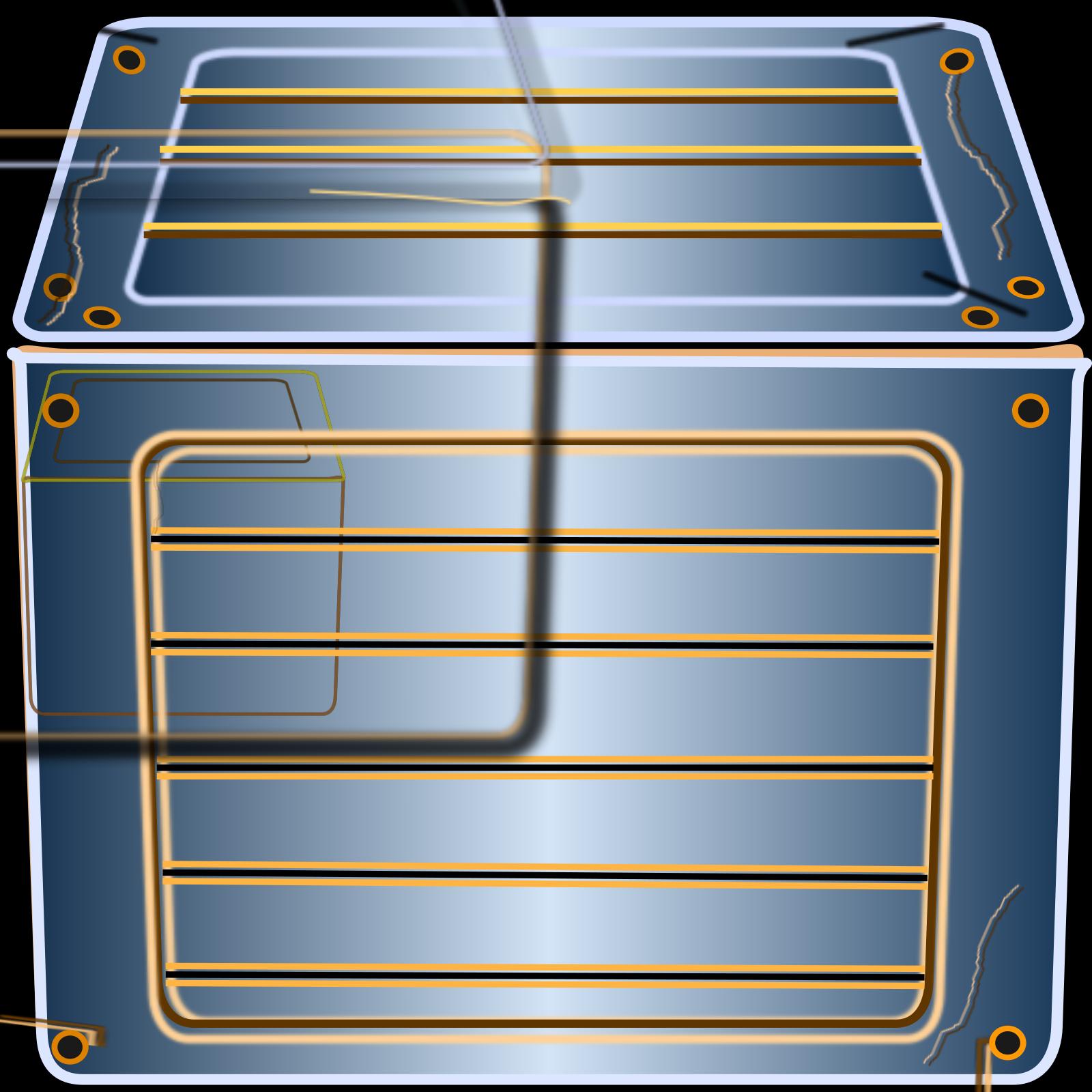 Blue Pad SVG Clip arts