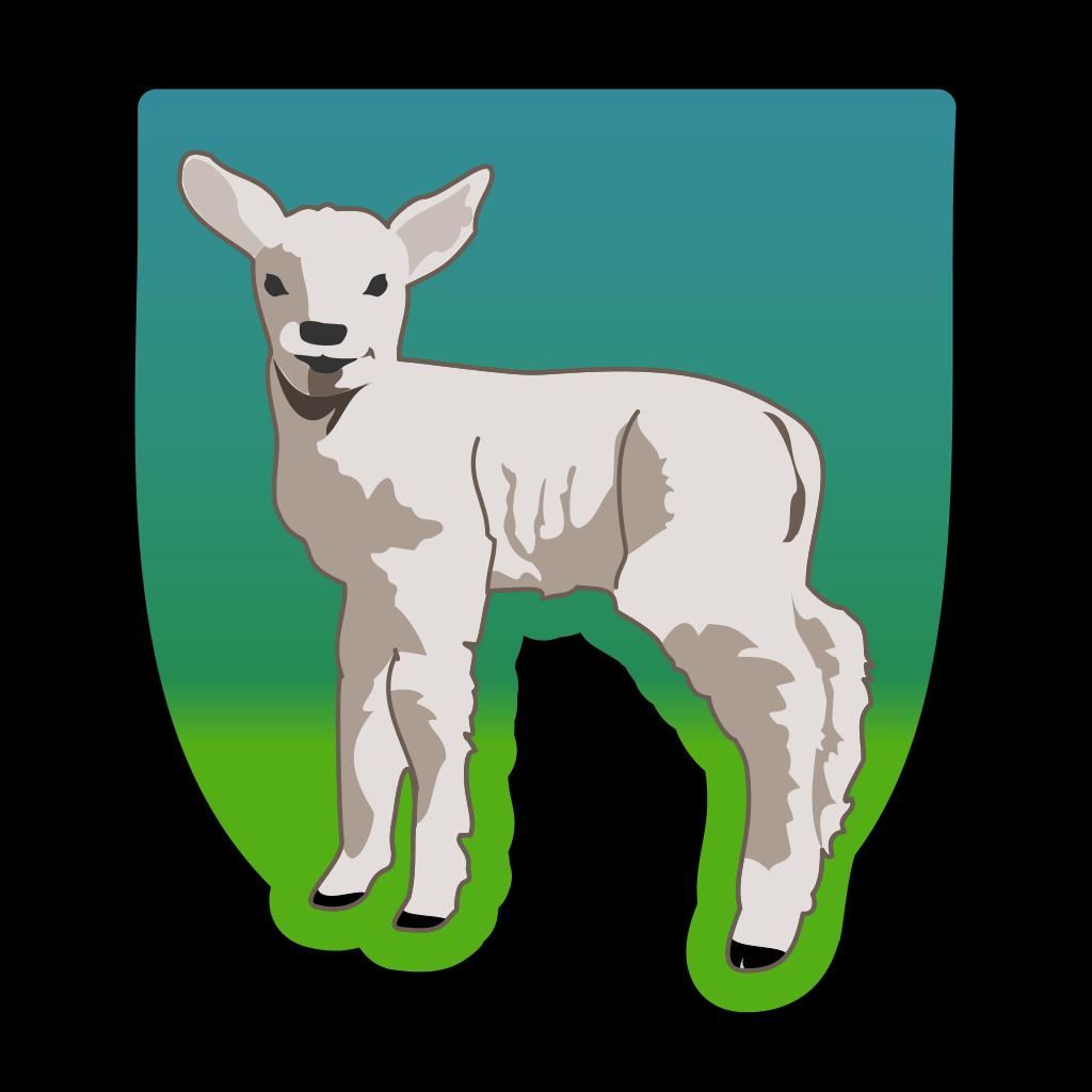 Small Sheep SVG Clip arts