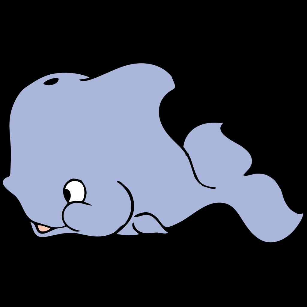 Cute Whale SVG Clip arts