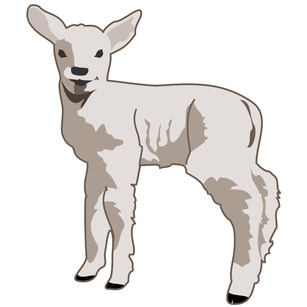 Small Sheep SVG Clip arts
