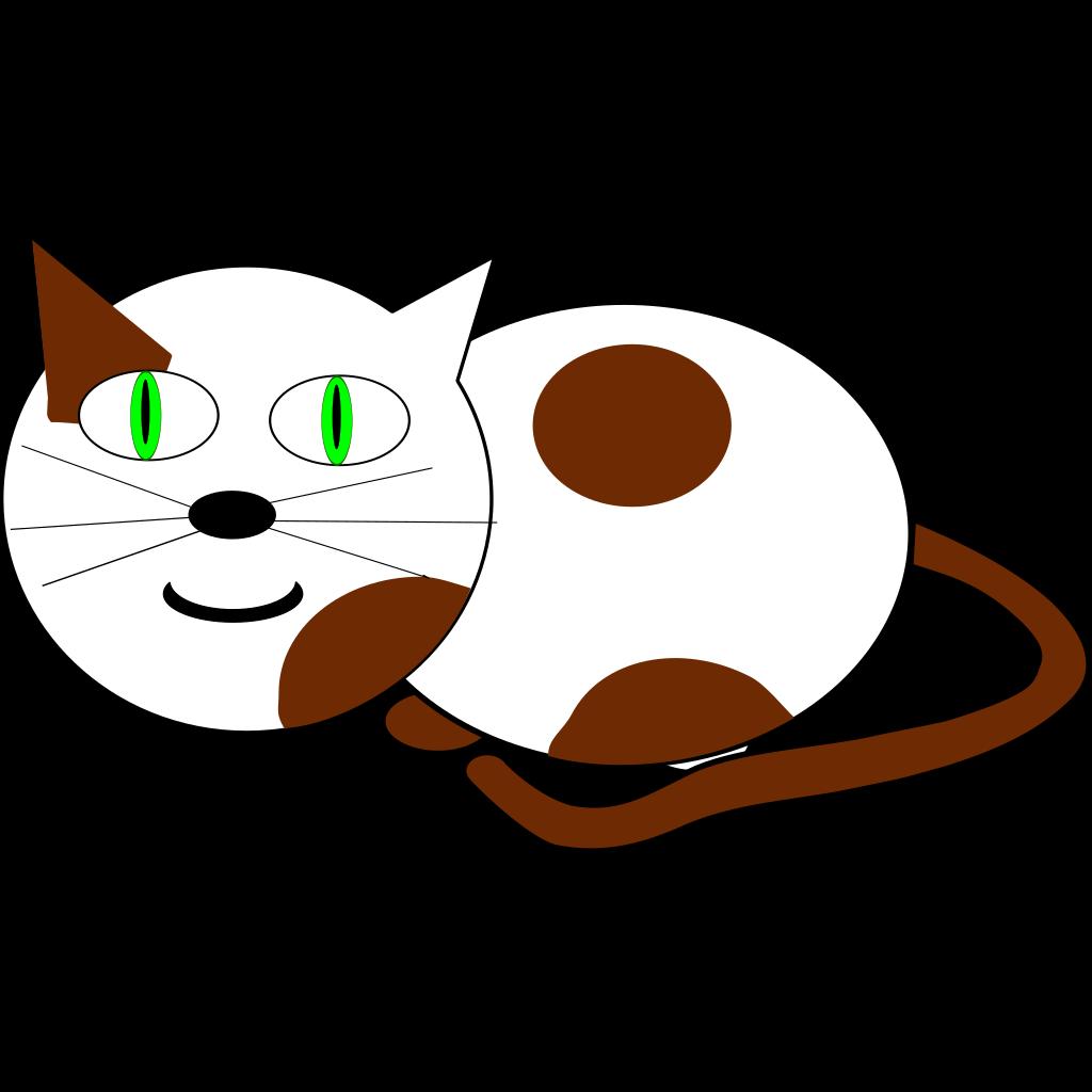 Sitting Cat SVG Clip arts